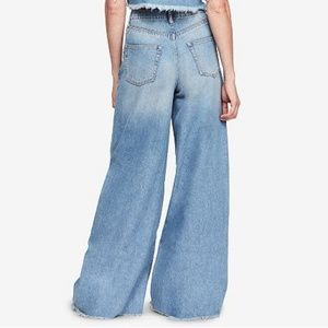 Free People Dust In The Wind Wide Flare Jeans NWT